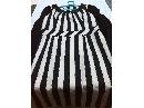 SIEPLI(斯尔丽)条纹拼针织连衣裙