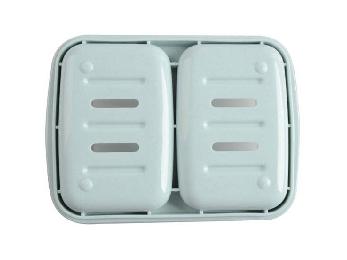 创意双体防水皂盒